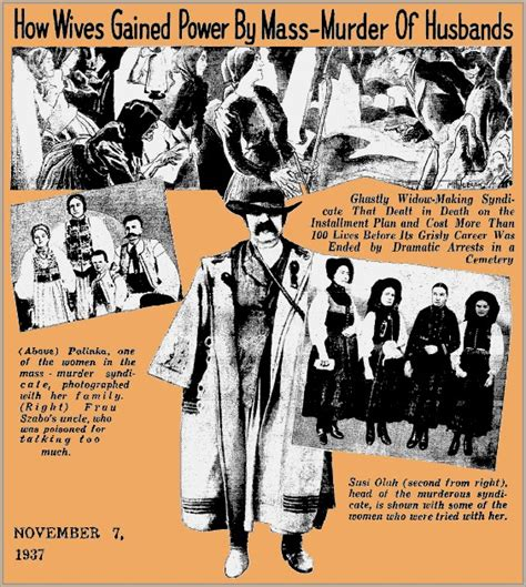 the unknown history of misandry how wives gained power by mass murder of husbands hungary 1929