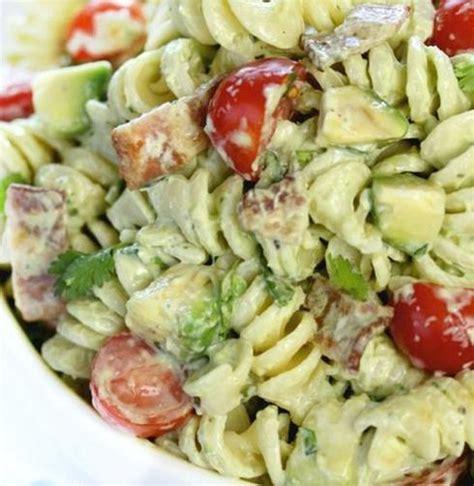 recettes de salades de pates pour  semaines de lunchs
