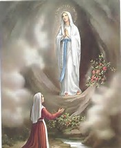 Image result for Our Lady of Lourdes Official