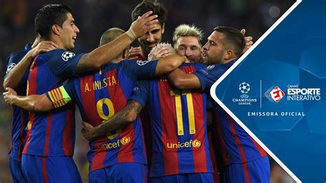 Enjoy the whole Champions League game between FC Barcelona and Celtic