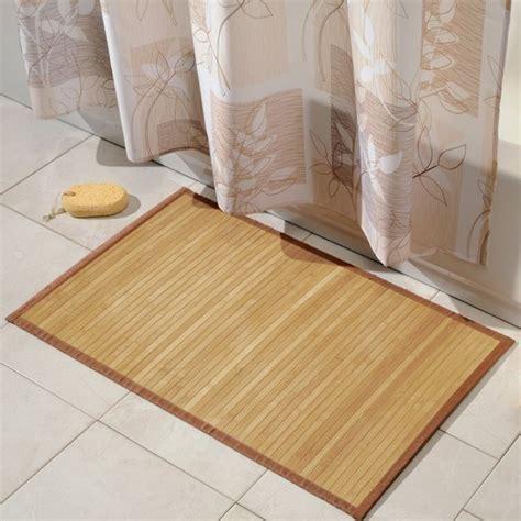 bamboo shower mat 7 bath mat ideas to make your bathroom feel more like a spa