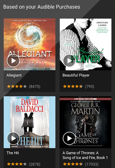audible for android 10 best audiobook apps for bibliophiles android hongkiat