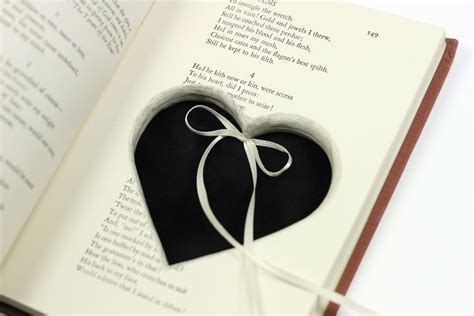 poetry engagement ring holder hollow book by virtualdistortion