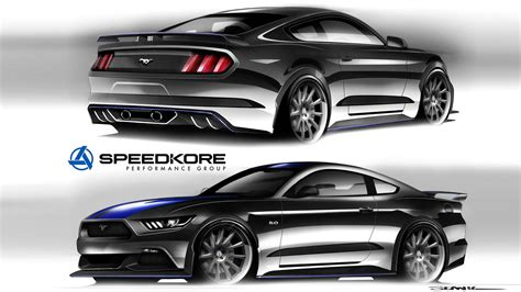 Ford 2016 Lineup by Ford Prepares Custom Built Mustang Lineup For 2016 Sema