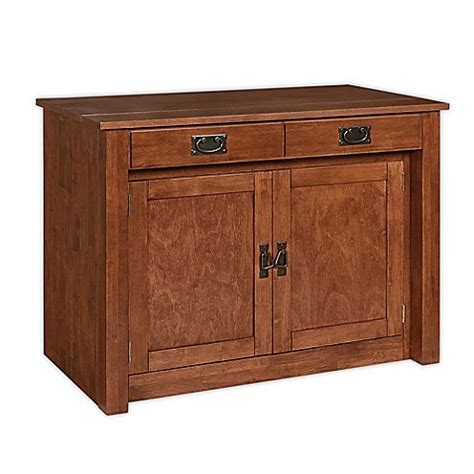 stakmore expanding cabinet table stakmore expanding wood cabinet bed bath beyond