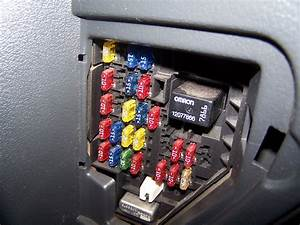 Chevy Cavalier Fuse Panel