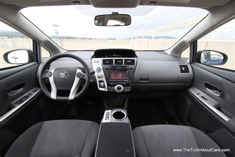 Toyota Prius 2012 Interior by 2012 Toyota Prius V Interior Gauges Photography