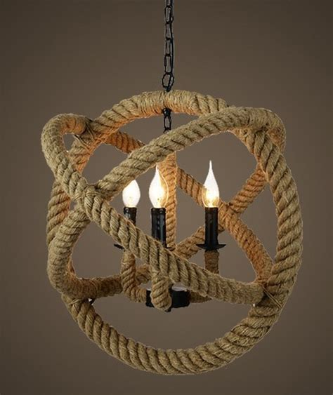 rope pendant light country hemp rope pendant lighting contemporary