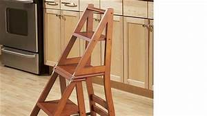 HOW TO : Build a Ben Franklin Ladder Chair - YouTube