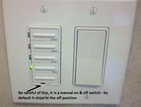 bathroom exhaust fan control switch installing a bathroom fan timer building moxie