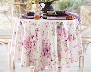 Nappe Pour Table : nappe fleurs roses dylsan becquet ~ Teatrodelosmanantiales.com Idées de Décoration