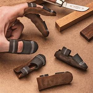 Leather Finger Guards - Garrett Wade