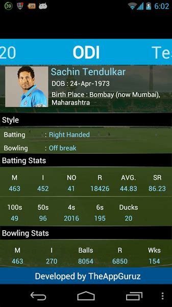 cricket  score ios app   app guruz