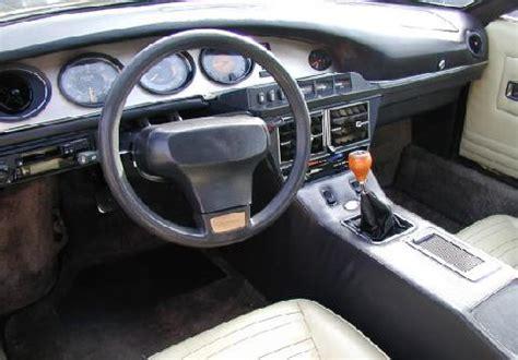 maserati merak interior maserati merak 2000 3000 vehicle summary motorbase