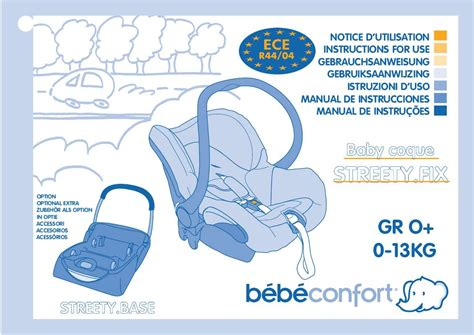 mode d emploi siege auto tex baby mode d 39 emploi bebe confort baby coque streety fix