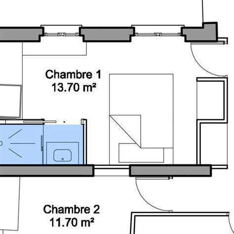 installer une dans une chambre 25 best ideas about plan salle de bain on