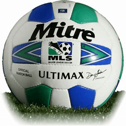 Mls Ball 1996 2000 Balls Mitre Official