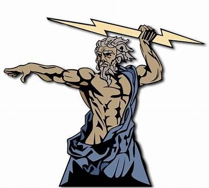 God Zeus Transparent Background Clipart Greek Powerful