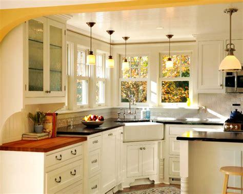kitchen corner kitchen sink  inspiring layout
