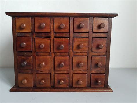 Wooden Apothecary Cabinet by Wooden Apothecary Cabinet Catawiki