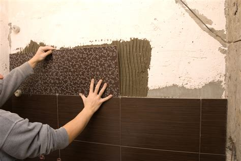 How To Grout A Shower by How To Create An Accent Wall With Wall Tile