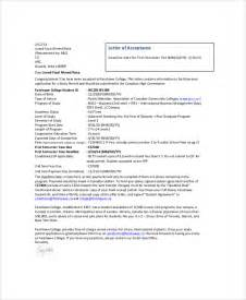 Sample College Acceptance Letter Template