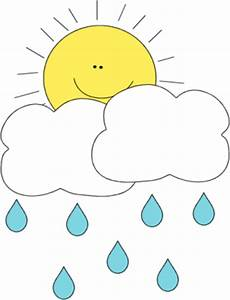 Sun Behind Rain Cloud Clip Art - Sun Behind Rain Cloud Image