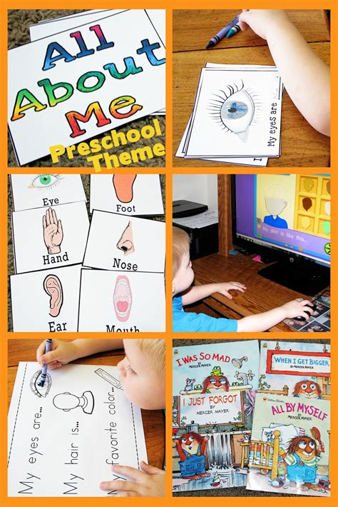 the best all about me activity theme for preschool kindergarten preschool themes s little helper all about me preschool theme