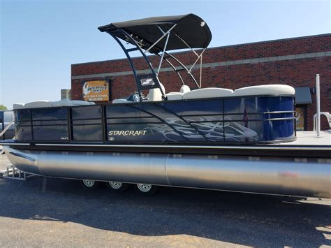 Wakeboard Tower Pontoon Boat by Pontoon Tower Images