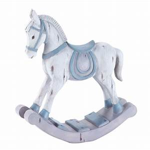 Cheval à Bascule Bebe : cheval bascule pastel maisons du monde ~ Teatrodelosmanantiales.com Idées de Décoration