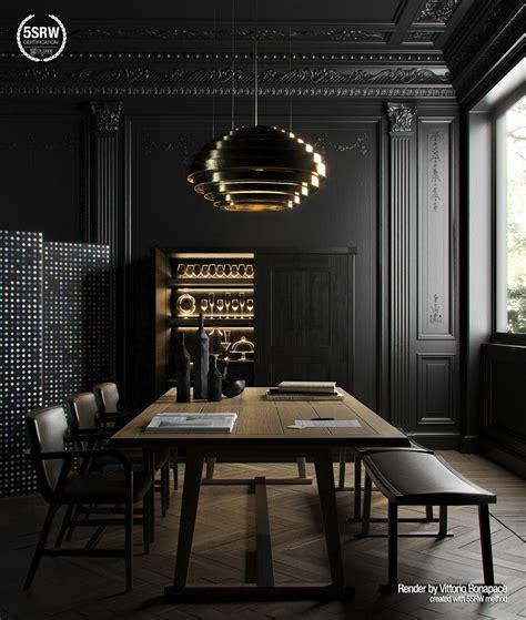Render it Black / Vittorio Bonapace with 5SRW