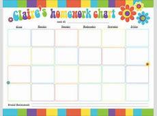 9+ Homework Calendar Templates Excel Templates