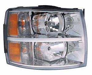 2011 Dodge Ram 1500 Light Replacement Chevy Silverado 2007 2011 Right Passenger Side Replacement
