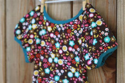 beginners baby dress  puff sleeves pattern