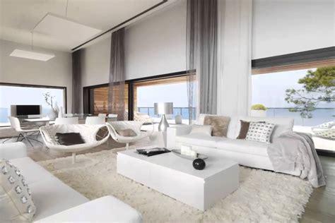 white interior design  modern cliff house youtube
