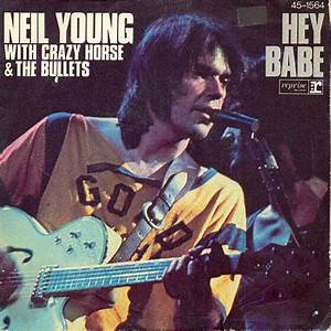 Neil Young singles in Don's record collection