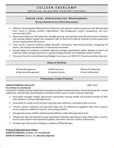 Business Resume Template 8 Business Administration Resumereport Template Document Report Template