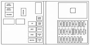 Cadillac Cts  2008  - Fuse Box Diagram