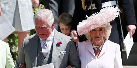 prince charles  duchess camilla arrive  meghan markle