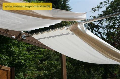 Regenschutz Im Garten Sonnensegelmarkise