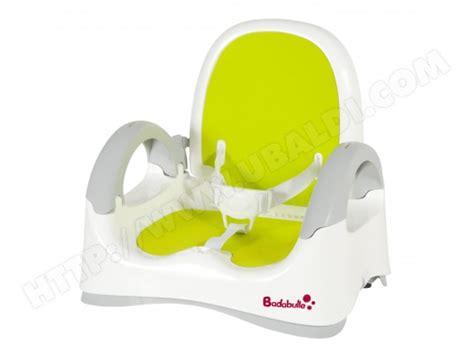 réhausseur chaise badabulle rehausseur de chaise badabulle b009000 pas cher ubaldi com