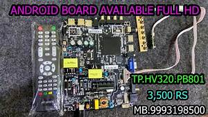 Tp Hv320 Pb801 Main Board Available    Universal Led Tv Motherboard