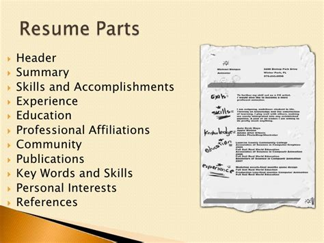 resume affiliations and interests resume get noticed to get that