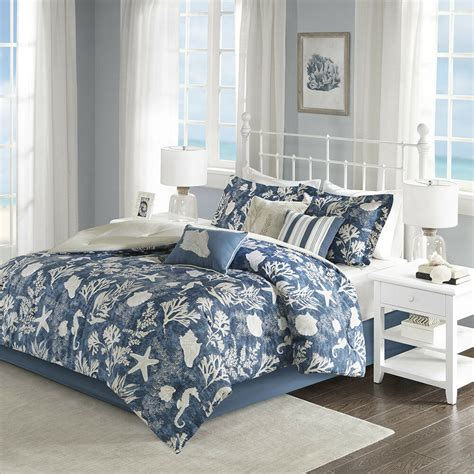 Light Blue Comforter Set by Beautiful Modern Chic Grey Light Blue Scroll Bed In Bag