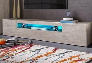 Tv Board 200 Cm : tecnos lowboard breite 200 cm online kaufen otto ~ Whattoseeinmadrid.com Haus und Dekorationen