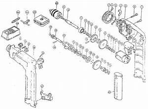 Makita Model 6093d Drill Driver Genuine Parts