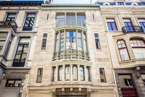 major town houses  victor horta brussels belgium