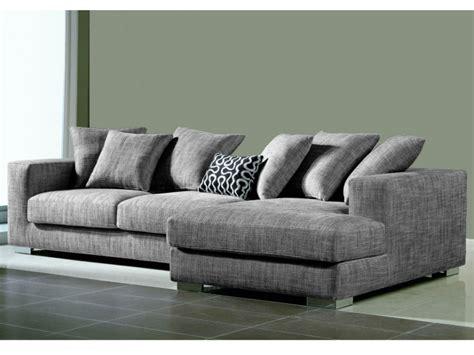 canapé d 39 angle déhoussable tissu haut de gamme spencer