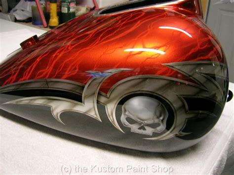 custom paint harley davidson honda yamaha suzuki