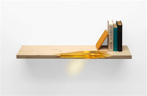manufract uses salvaged wood and bio resin to create self
